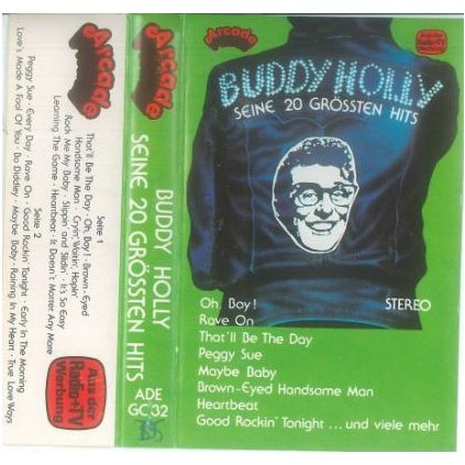 VINYLO.SK | BUDDY HOLLY ♫ SEINE 20 GRÖSSTEN HITS (stav: NM/NM) [LP] B0002144