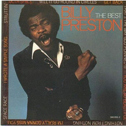 VINYLO.SK | BILLY PRESTON ♫ THE BEST (stav: VG+/VG+) [LP] B0002257