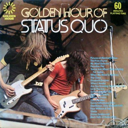 VINYLO.SK | STATUS QUO ♫ GOLDEN HOUR OF STATUS QUO (stav: VG+/VG+) [LP] B0002317