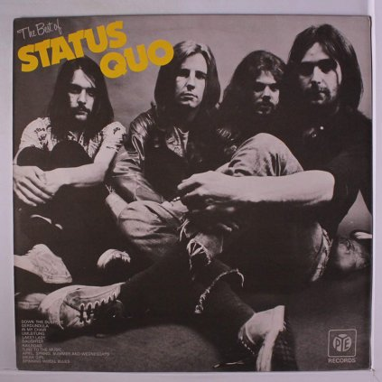 VINYLO.SK | STATUS QUO ♫ THE BEST OF STATUS QUO (stav: NM/VG) [LP] B0002319