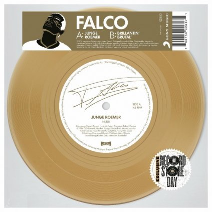"FALCO ♫ JUNGE ROEMER [SP7"" Single]"