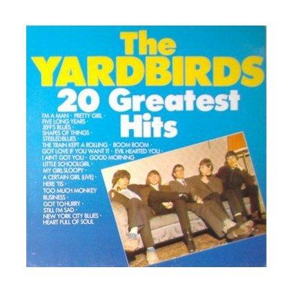 VINYLO.SK | YARDBIRDS, THE ♫ 20 GREATEST HITS (stav: VG+/VG+) [LP] B0002358