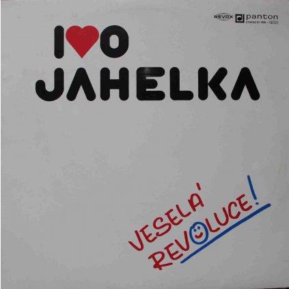 VINYLO.SK | IVO JAHELKA ♫ VESELÁ REVOLUCE! (stav: VG-/VG) [LP] B0002390