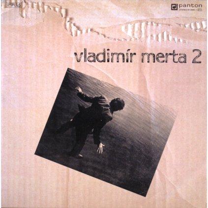VINYLO.SK | VLADIMÍR MERTA ♫ VLADIMÍR MERTA 2 (stav: VG+/VG+) [LP] B0002406