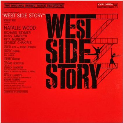 VINYLO.SK | LEONARD BERNSTEIN ♫ WEST SIDE STORY (ORIGINAL SOUND TRACK RECORDING) (stav: VG-/VG-) [LP] B0002535