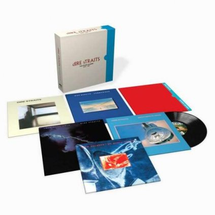 VINYLO.SK | DIRE STRAITS ♫ The Studio Albums / Limited Edition BOX SET [8LP] 0602537529193