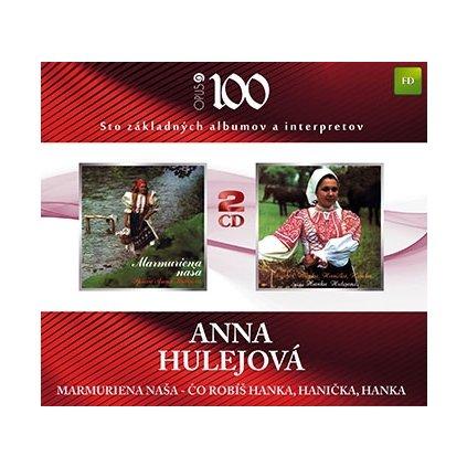 VINYLO.SK | HULEJOVA ANNA ♫ MARMURIENA NASA / CO ROBIS HANKA, HANICKA, HANKA [2CD] 8584019017027