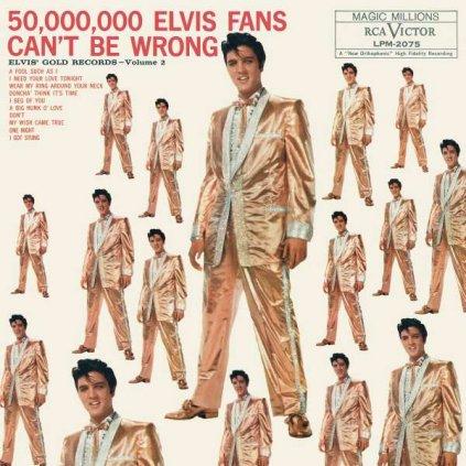 VINYLO.SK | PRESLEY, ELVIS - 50,000,000 ELVIS FANS CAN'T BE WRONG [LP]