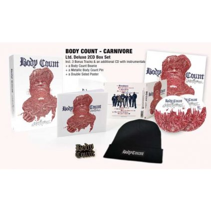 VINYLO.SK | BODY COUNT - CARNIVORE / Limited / BOX [2CD]