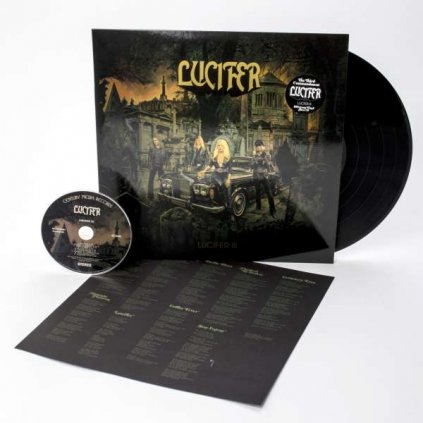VINYLO.SK | LUCIFER - LUCIFER III / HQ [LP + CD]