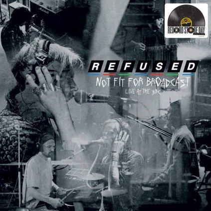 VINYLO.SK | Refused ♫ Not Fit For Broadcasting - Live At The BBC / Limited =RSD= [LP] vinyl 0602508547812