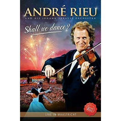 VINYLO.SK | RIEU ANDRE ♫ SHALL WE DANCE [DVD] 8719326407999