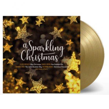 VINYLO.SK | Rôzni interpreti ♫ A SPARKLING CHRISTMAS / GOLD VINYL [LP] 8719039005956