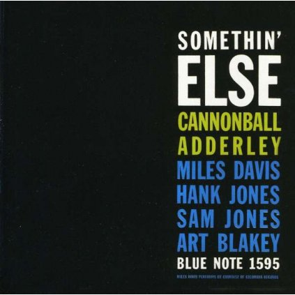 VINYLO.SK | Adderley Cannonball ♫ Somethin' Else [CD] 0724349532922