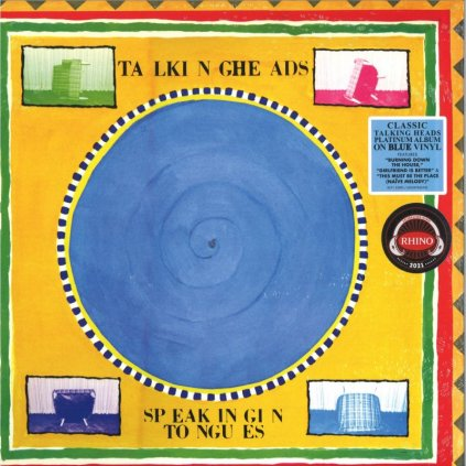 VINYLO.SK | Talking Heads ♫ Speaking In Tongues / Blue Vinyl [LP] vinyl 0603497845330