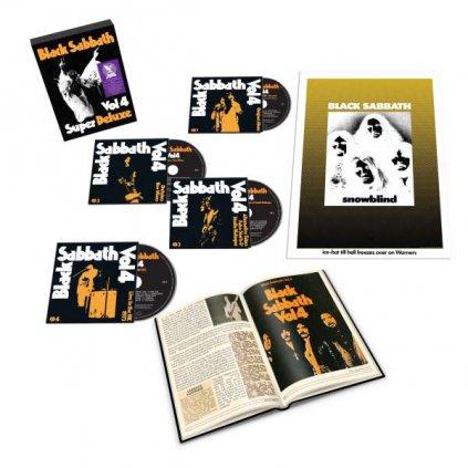 VINYLO.SK   Black Sabbath ♫ Vol. 4 /Super Deluxe Box Set [4CD] 4050538644500