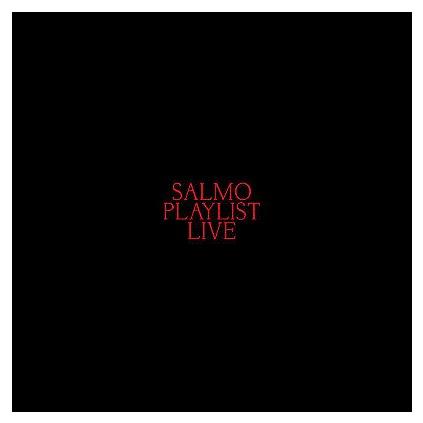 VINYLO.SK | Salmo ♫ Playlist Live [2CD] 0194397110128