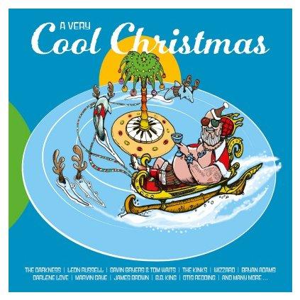 VINYLO.SK | V/A - A VERY COOL CHRISTMAS (2LP)180GR/INSERT/1500CPS GREEN (LP1) & RED (LP2) CLRD VINYL