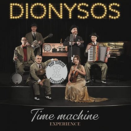 VINYLO.SK | Dionysos ♫ Time Machine Experience [CD] 0194398730929