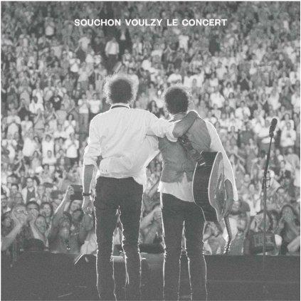 VINYLO.SK | Souchon Alain & Laurent Voulz ♫ Souchon Voulzy Le Concert [2CD + DVD] 0889853619726