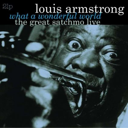 VINYLO.SK | Armstrong, Louis ♫ Great Satchmo Live / What A Wonderful World [2LP] 8712177064496