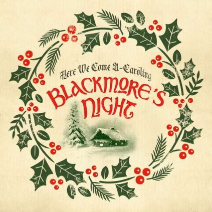 VINYLO.SK | Blackmore´s Night ♫ Here We Come A-Caroling / Limited Edition of 2000 copies worldwide / Green Vinyl [LP10inch] 4029759155485