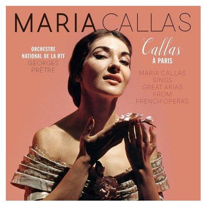 VINYLO.SK | Callas, Maria ♫ Callas A Paris [LP] 8719039005734