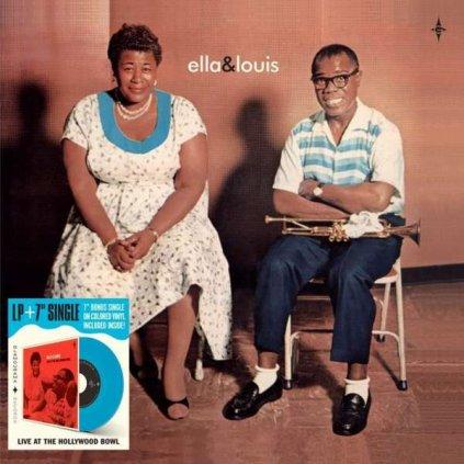 VINYLO.SK | Fitzgerald, Ella & Louis Armstrong ♫ Ella & Louis / Coloured Vinyl [LP + SP7inch] 8436563182624