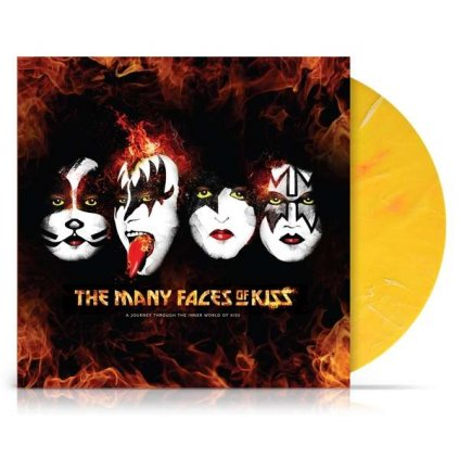 VINYLO.SK | KISS =Rôzni interpreti= ♫ Many Faces Of KISS / Limited Edition / Coloured Vinyl [2LP] 7798093712636