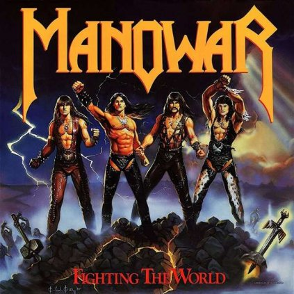 VINYLO.SK | Manowar ♫ Fighting The World [LP] 3760053844705