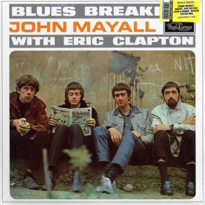 VINYLO.SK | Mayall, John & The Bluesbreakers ♫ With Eric Clapton / Incl. 4 Bonus Tracks [LP] 8013252900020