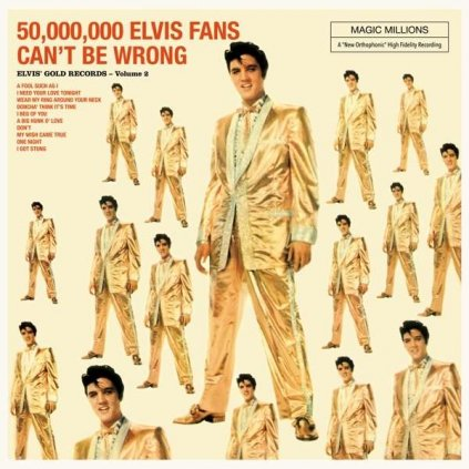VINYLO.SK | Presley, Elvis ♫ 50.000.000 Elvis Fans Can't Be Wrong / Incl. 4 Bonus Tracks [LP] 8436544170268