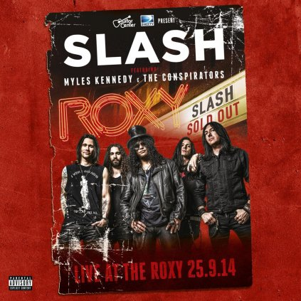 VINYLO.SK | Slash ♫ Live At The Roxy / Limited Edition [3LP + 2CD] 4029759129486