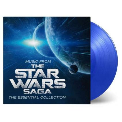 VINYLO.SK | Williams, John ♫ The Star Wars Saga / HQ / Limited Edition to 1000 copies / Blue Vinyl [2LP] 8719262013827