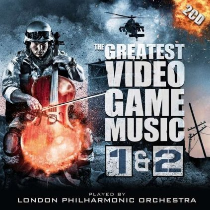 VINYLO.SK | London Philharmonic Orchestra ♫ Greatest Video Game Music 1 & 2 [2CD] 0190295423063