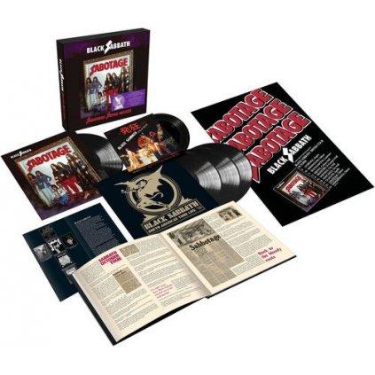 VINYLO.SK | Black Sabbath ♫ Sabotage / Super Deluxe Box Set [4LP+SP7inch] 4050538659788