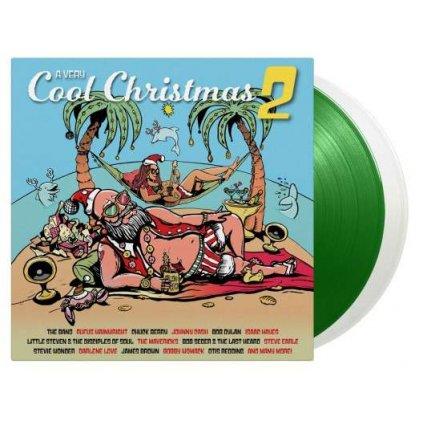 VINYLO.SK | Rôzni interpreti ♫ A Very Cool Christmas Vol. 2 / Limited Edition of 2000 Copies / White(LP1) & Green(LP2) Vinyl [2LP] 0600753924341