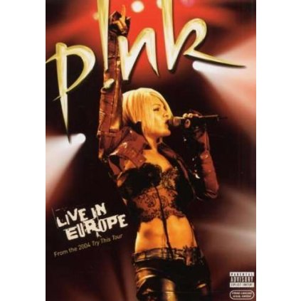 VINYLO.SK | PINK - LIVE IN EUROPE [DVD]
