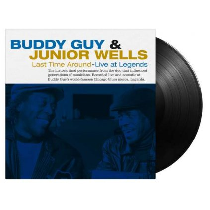 VINYLO.SK   Guy Buddy & Junior Wells ♫ Last Time Around (Acoustic Live Sessions) [LP] 8719262015975