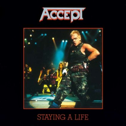 VINYLO.SK | Accept ♫ Staying A Life / HQ [2LP] 8719262019461