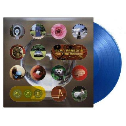 VINYLO.SK | Parsons Alan ♫ Time Machine / Limited Edition of 1500 Copies / Translucent Blue Vinyl [2LP] 8719262019485