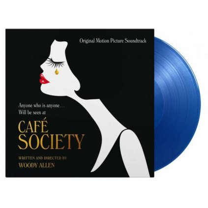 VINYLO.SK | OST ♫ Cafe Society / Limited Edition of 500 Copies / Blue Vinyl [LP] 8719262020290