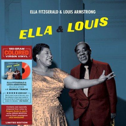 VINYLO.SK | Fitzgerald Ella / Armstrong Louis ♫ Ella And Louis / Limited Edition / Coloured Vinyl [LP] vinyl 8436563183461