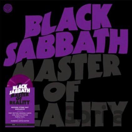 VINYLO.SK | Black Sabbath ♫ Master Of Reality / Limited Numbered Edition / Purple Vinyl =RSD= [LP] vinyl 4050538658194