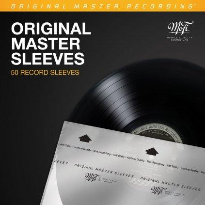 VINYLO.SK | MOFI Original Master Sleeves - Antistatické vnútorné obaly na  vinyl LP 50ks 0821797777070