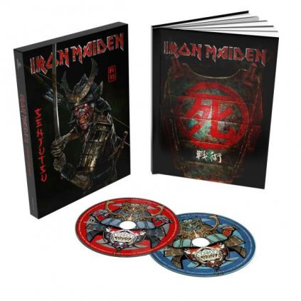 VINYLO.SK | Iron Maiden ♫ Senjutsu / Digipack In O-Card [2CD] 0190295015930