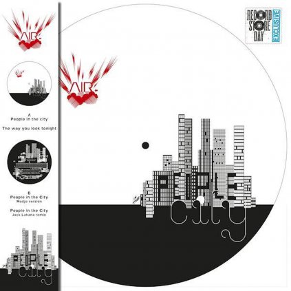 VINYLO.SK | Air ♫ People In The City / Picture Disc =RSD= [LP] Vinyl 0190295062217