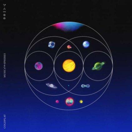 VINYLO.SK | Coldplay ♫ Music Of The Spheres [CD] 0190296666988