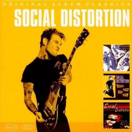 VINYLO.SK | SOCIAL DISTORTION - ORIGINAL ALBUM CLASSICS [3CD]