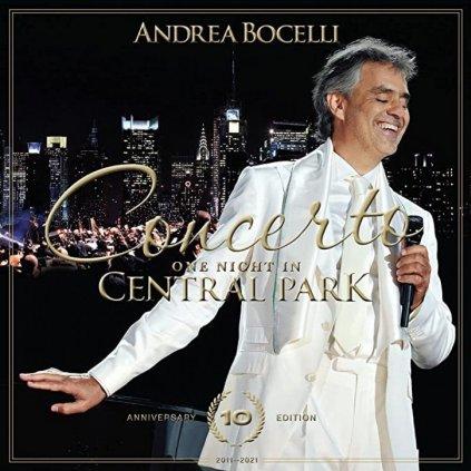 VINYLO.SK   Bocelli Andrea ♫ Concerto: One Night In Central Park [2CD] 0602438630684